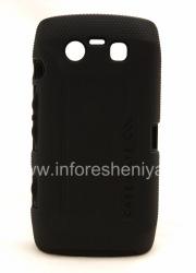 Фирменный чехол повышенной прочности Case-Mate Tough Case для BlackBerry 9850/9860 Torch, Черный/Черный (Black/Black)