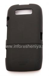 Фирменный пластиковый чехол Seidio Surface Case для BlackBerry 9850/9860 Torch, Черный (Black)