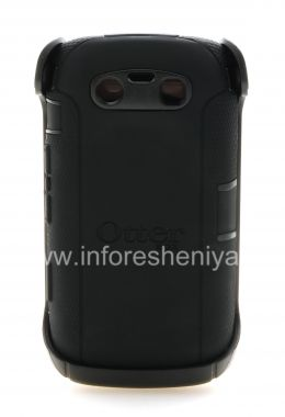 Купить Фирменный пластиковый чехол-корпус повышенного уровня защиты OtterBox Defender Series Case для BlackBerry 9850/9860 Torch
