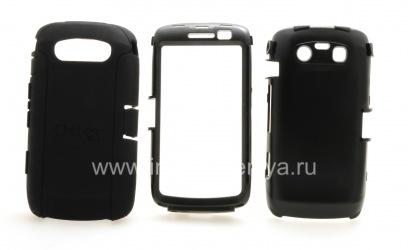 Фирменный пластиковый чехол-корпус повышенного уровня защиты OtterBox Defender Series Case для BlackBerry 9850/9860 Torch