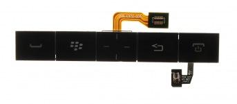 原来额外的键盘与BlackBerry P'9981保时捷设计的触控板总成, 黑