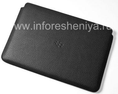 Купить Оригинальный кожаный чехол-карман Leather Sleeve для BlackBerry PlayBook