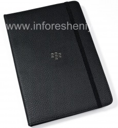 D'origine Dossier Housse en cuir pour BlackBerry PlayBook Journal Case, Noir (Black)