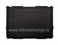 Кожаный чехол-папка с подставкой Sandwich Case для BlackBerry PlayBook, Черный (Black)
