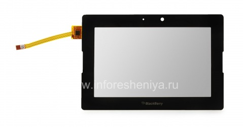 Тач-скрин (touchscreen) для BlackBerry PlayBook, Черный, для Wi-Fi-версии
