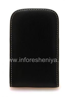 Купить Фирменный кожаный чехол-карман ручной работы с зажимом Monaco Vertical/Horisontal Pouch Type Leather Case для BlackBerry Q10/ 9983
