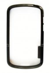 Силиконовый чехол-бампер уплотненный для BlackBerry Q10, Черный