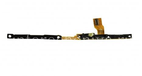 Микросхема боковых кнопок с микрофонами и LED-индикатором для BlackBerry Q10, Серебряный