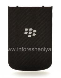Оригинальная задняя крышка для BlackBerry Q10, Черный карбон (Black Carbon)
