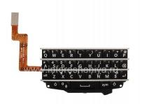 Оригинальная английская клавиатура в сборке с платой для BlackBerry Q10, Черный