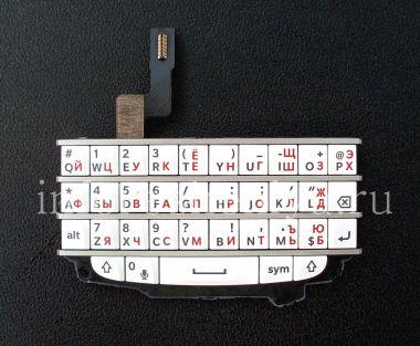 Купить Белая русская клавиатура в сборке с платой для BlackBerry Q10