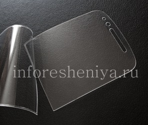 Фирменная ультратонкая защитная пленка для экрана Savvies Crystal-Clear для BlackBerry Q10, Прозрачный