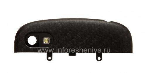 Верхняя часть корпуса с микросхемой вспышки для BlackBerry Q10, Черный
