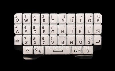 Оригинальная английская клавиатура для BlackBerry Q5, Белый