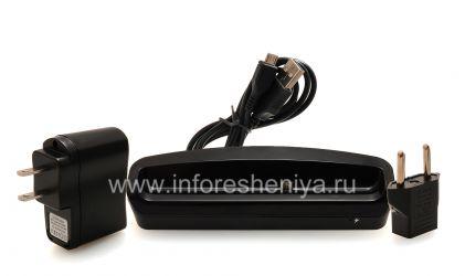 """Фирменное настольное зарядное устройство """"Стакан"""" 4XEM Dock для BlackBerry Z10, Черный"""