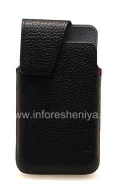 Купить Оригинальный кожаный чехол с клипсой Leather Swivel Holster для BlackBerry Z10/ 9982