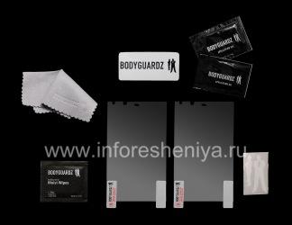 Фирменная защитная пленка для экрана BodyGuardz HD Anti-Glare ScreenGuardz (2 штуки) для BlackBerry Z10/ 9982, Прозрачный матовый