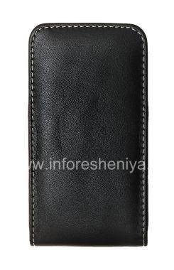 Купить Фирменный кожаный чехол-карман ручной работы с зажимом Monaco Vertical/Horisontal Pouch Type Leather Case для BlackBerry Z10/ 9982