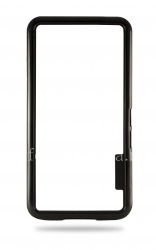 Силиконовый чехол-бампер уплотненный для BlackBerry Z10, Черный