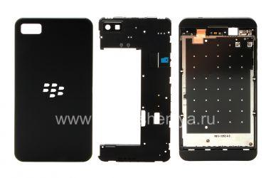 Оригинальный корпус для BlackBerry Z10, Черный, T1