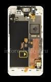 Photo 2 — স্ক্রিন এলসিডি + + BlackBerry Z10 জন্য স্পর্শ পর্দা (টাচস্ক্রিন) + + সরু ফ্রেম সমাবেশ, হোয়াইট, টাইপ T1 এর