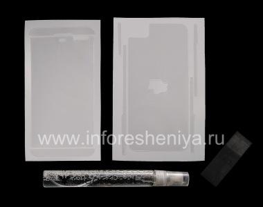 Купить Фирменная защитная пленка Ультрапрозрачная для экрана и корпуса Clear-Coat для BlackBerry Z10
