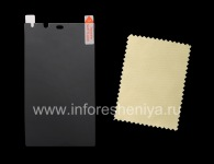 """Защитная пленка для экрана матовая """"Privacy"""" для BlackBerry Z10/ 9982, Затемненный"""