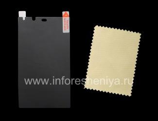 """Display-Schutzfolie matt """"Datenschutz"""" für Blackberry-Z10 / 9982, Dimmer"""