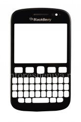Тач-скрин (Touchscreen) в сборке с передней панелью для BlackBerry 9720, Черный