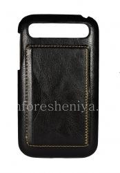 Ledertasche, Abdeckung für Blackberry Classic, schwarz
