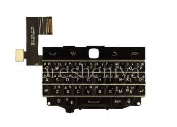 Русская клавиатура в сборке с платой (без трекпада) для BlackBerry Classic (гравировка), Черный