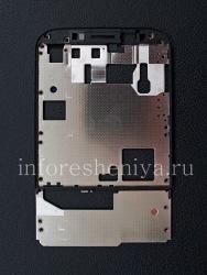 La partie centrale du corps (la base métallique de l'écran) pour le BlackBerry Classic