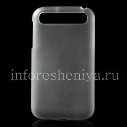 Пластиковый чехол-крышка прозрачный матовый для BlackBerry Classic, Прозрачный