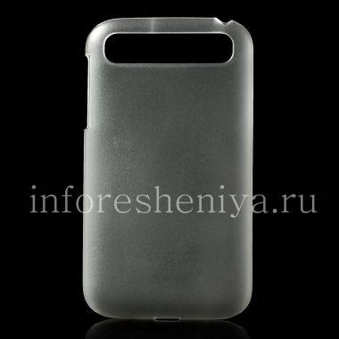 Купить Пластиковый чехол-крышка прозрачный матовый для BlackBerry Classic