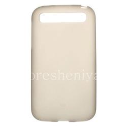 Силиконовый чехол уплотненный матовый для BlackBerry Classic, Серый