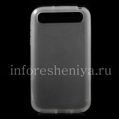 Купить Силиконовый чехол уплотненный прозрачный для BlackBerry Classic