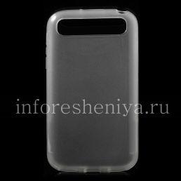 Силиконовый чехол уплотненный прозрачный для BlackBerry Classic, Прозрачный