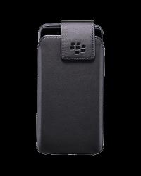 Оригинальный кожаный чехол с клипсой Swivel Holster для BlackBerry DTEK50, Черный (Black)