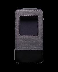 Оригинальный комбинированный чехол-карман Smart Pocket для BlackBerry DTEK50, Серый/Черный (Grey/Black)