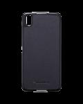 حالة قشرة صلبة من البلاستيك الأصلي / حالة الجلد لBlackBerry DTEK50, أسود (أسود)