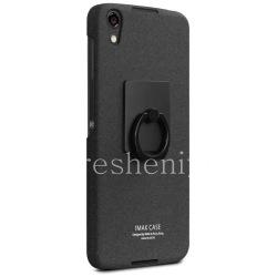 Firm plastic cover, cover IMAK Sandy Shell for BlackBerry DTEK50, Black