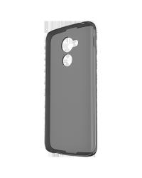 Оригинальный силиконовый чехол уплотненный Soft Shell Case для BlackBerry DTEK60, Черный (Black)