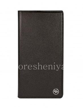 Купить Оригинальный кожаный чехол с открывающейся крышкой Flip Case для BlackBerry KEY2