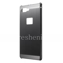 Эксклюзивный комбинированный чехол Aluminium для BlackBerry KEY2, Антрацит