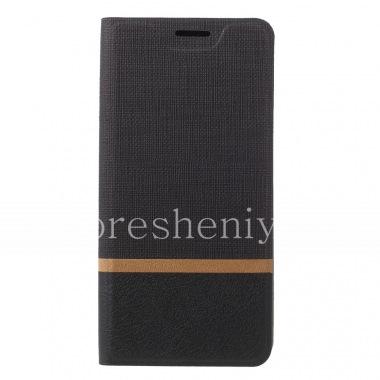 Купить Кожаный чехол горизонтально открывающийся для BlackBerry KEY2