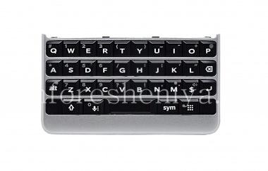 Купить Оригинальная английская клавиатура в сборке с платой, сенсорным элементом и сканером отпечатков пальцев для BlackBerry KEY2