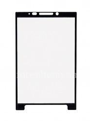 Фирменная защитная пленка-стекло IMAK 9H для экрана BlackBerry KEY2, Черный/Прозрачный