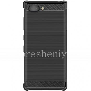 Купить Фирменный силиконовый чехол IMAK Carbon для BlackBerry KEY2