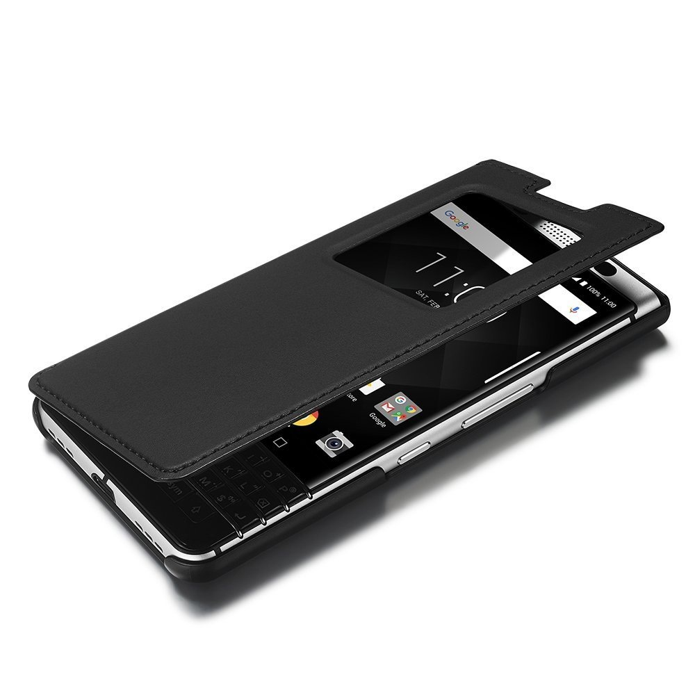 san francisco 6dc38 42878 Original Leather Case with Flip Case Cover for BlackBerry KEYone —  Everything for BlackBerry. InfoResheniya / bbry.net