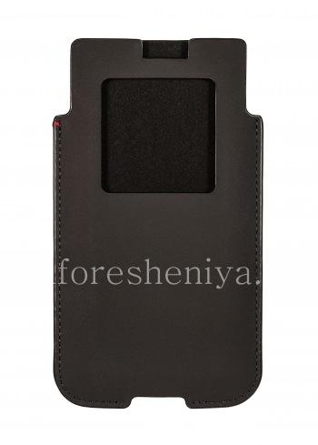 Оригинальный кожаный чехол-карман Pocket Sleeve для BlackBerry KEYone